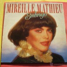 Discos de vinilo: LP MIRELLE MATHIEU:EMBRUJO,AÑO 1989 ARIOLA PEPETO. Lote 40893640