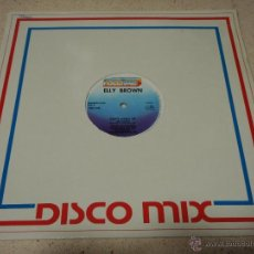 Discos de vinilo: ELLY BROWN ( DON'T HANG UP ) VOCAL VERSION + DUB VERSION 1985-ITALY MAXI33 FULL TIME RECORDS. Lote 40899242
