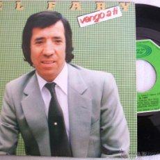 Discos de vinilo: EL FARY - VENGO A TI / LAMENTOS DE UNA CONDENA - MOVIEPLAY - VG+. Lote 40904819