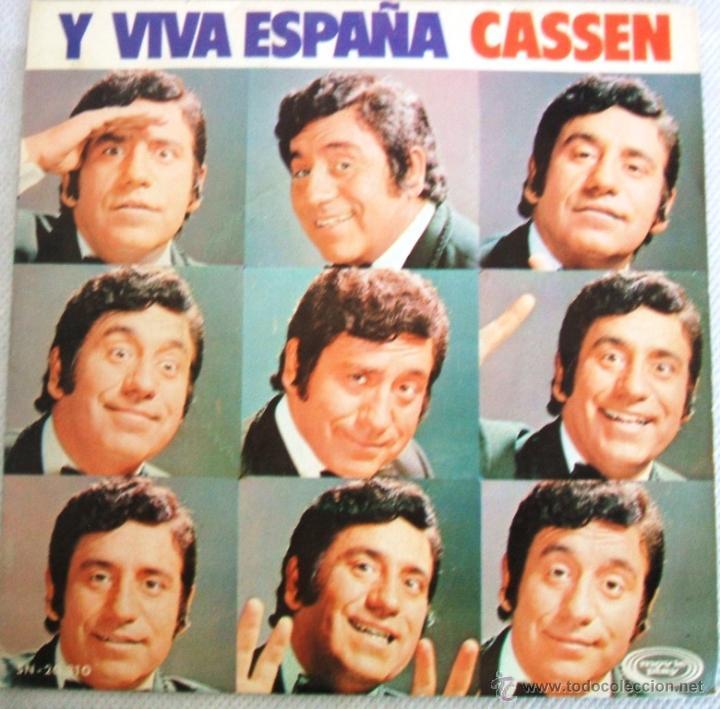 CASSEN / Y VIVA ESPAÑA - SINGLE MOVIEPLAY SN -20.810 / AÑO 1973 (Música - Discos - Singles Vinilo - Cantautores Españoles)