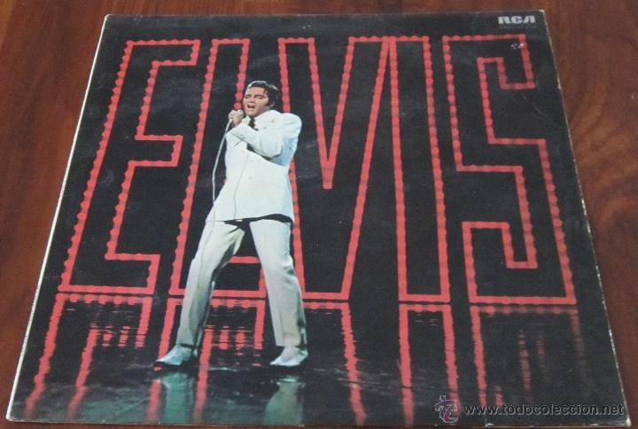 ELVIS PRESLEY - ELVIS - LP - RCA INTERNACIONAL 1968 UK (Música - Discos - LP Vinilo - Rock & Roll)