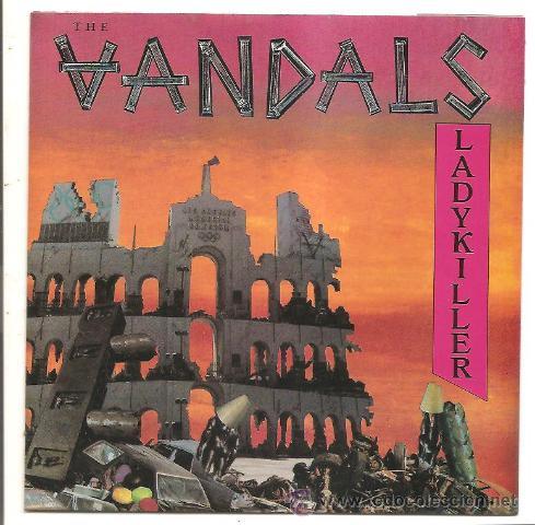 SINGLE THE VANDALS – LADYKILLER/HOCUS POCUS - ESPAÑA (Música - Discos - Singles Vinilo - Punk - Hard Core)