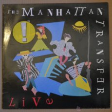 Discos de vinilo: THE MANHATTAN TRANSFER. LP ATLANTIC 1987. LITERACOMIC.. Lote 40909073
