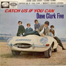 Discos de vinilo: THE DAVE CLARK FIVE - CATCH US IF YOU CAN + 3 - EP SPAIN 1966 VG++ /G. Lote 40910013