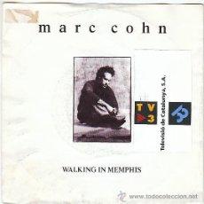 Discos de vinilo: MARC COHN - WALKING IN MEMPHIS - DIG DOWN DEEP, ATLANTIC 1991. Lote 40912068