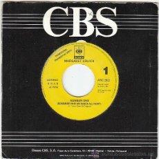Discos de vinilo: MARGARET URLICH - NUMBER ONE, CBS SONY 1990, PROMO DE UNA SOLA CARA. Lote 40912095