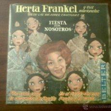 Discos de vinilo: MICROSURCO HERTA FRANKEL Y SUS MARIONETAS-BELTER 1963-PIM PAM PUM-LA ORQUESTA DE PEPITO. Lote 40912207