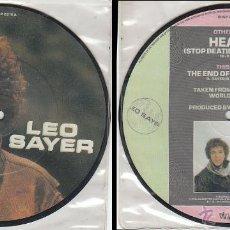 Discos de vinil: LEO SAYER - HEART - THE END OF THE GAME, EDITADO POR CHRYSALIS (ESTADOS UNIDOS) EN 1982 . Lote 40912262
