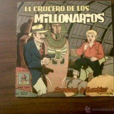 Discos de vinilo: MICROSURCO EL CRUCERO DE LOS MILLONARIOS-AVENTURAS DE BAMBINO-ODEON 1958. Lote 40912447