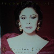 Discos de vinilo: ISABEL PANTOJA - LA CANCIÓN ESPAÑOLA - EDICIÓN DE 1990 DE ESPAÑA - DOBLE. Lote 40913848