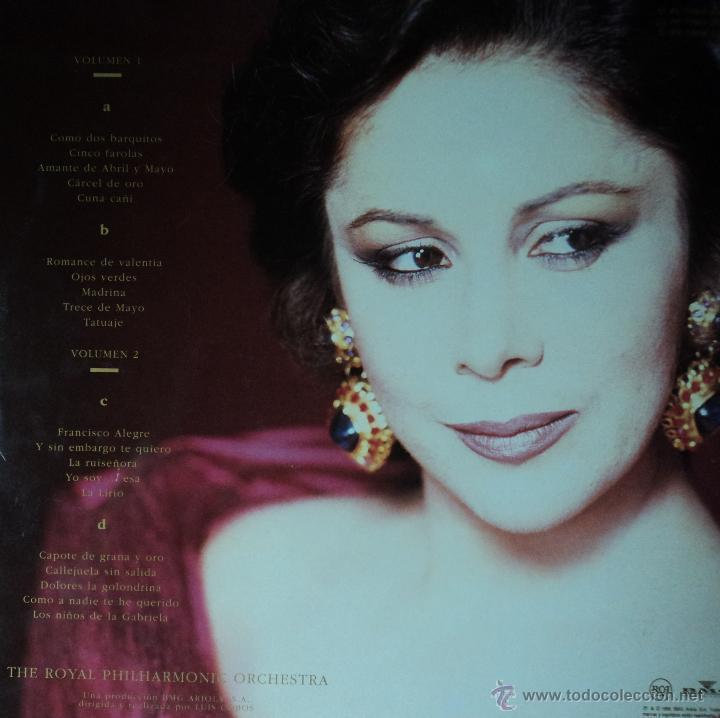 Discos de vinilo: Isabel Pantoja - La Canción Española - Edición de 1990 de España - Doble - Foto 2 - 40913848