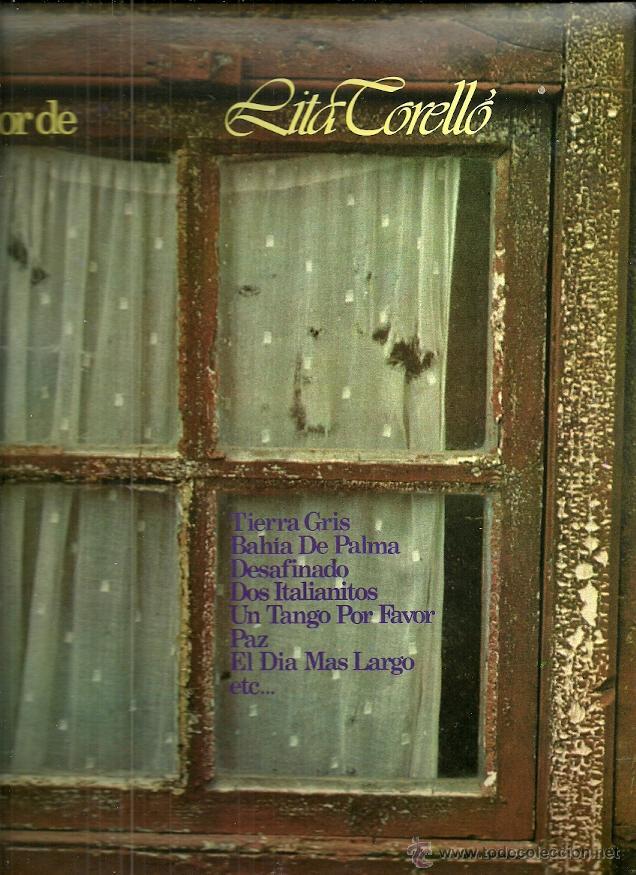 LITA TORELLO LP SELLO GRAMUSIC AÑO 1978 (Música - Discos - LP Vinilo - Solistas Españoles de los 50 y 60)