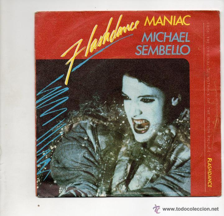 MICHAEL SEMBELLO - FLASHDANCE - MANIAC - SG 1983 (Música - Discos - Singles Vinilo - Pop - Rock Internacional de los 90 a la actualidad)