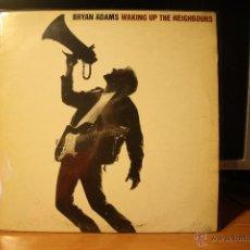 Discos de vinilo: BRIAN ADAMS WAKING UP THE NEIGHBOURS DOBLE LP. Lote 40920702