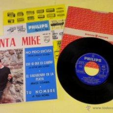 Discos de vinilo: MIGUEL RIOS (CANTA MIKE) E.P. (1964) ***NUEVO***. Lote 40923343