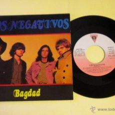 Discos de vinilo: LOS NEGATIVOS (BAGDAD) SINGLE ***NUEVO***. Lote 40923397