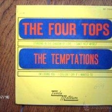 Discos de vinilo: THE FOUR TOPS + THE TEMPTATIONS . Lote 40923850