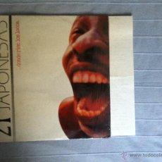Discos de vinilo: LP 21 JAPONESAS-DONDE RIEN LOS LOCOS. Lote 40925985
