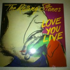 Discos de vinilo: THE ROLLING STONES · LOVE YOU LIVE - DOBLE LP - CBS, 1977. Lote 40929384