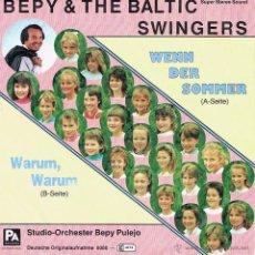 Discos de vinilo: BEPY & THE BALTIC SWINGERS - STUDIO ORCHESTER BEPY PULEJO RARO. Lote 40930709
