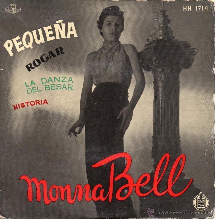MONNA BELL, EP, PEQUEÑA + 3, AÑO 1959 (Música - Discos de Vinilo - EPs - Solistas Españoles de los 50 y 60)