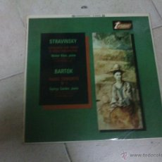 Discos de vinilo: LP STRAVINSKY BARTOK. Lote 40932946