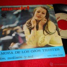 Discos de vinilo: MASSIEL MIRLOS, MOLINOS Y SOL/LA MOZA DE LOS OJOS TRISTES 7 SINGLE 1967 NOVOLA. Lote 40933884
