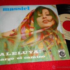 Discos de vinilo: MASSIEL ¡ALELUYA! Nº 1 / LARGO EL CAMINO 7 SINGLE 1967 NOVOLA AUTE. Lote 40933905