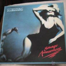 Discos de vinilo: SCORPIONS SAVAGE AMUSEMENT LP 74 6704 1 EMI. Lote 54316355