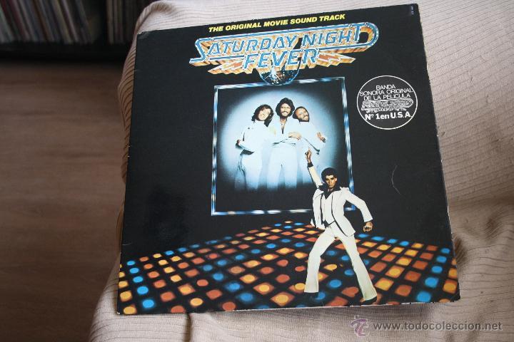 2 LPS, B.S.O FIEBRE DEL SABADO NOCHE, BEE GEES RSO RECORDS, 1977, 1ª EDICCION ORIGINAL, MADE SPAIN (Música - Discos - LP Vinilo - Bandas Sonoras y Música de Actores )