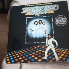 Discos de vinilo: 2 LPS, B.S.O FIEBRE DEL SABADO NOCHE, BEE GEES RSO RECORDS, 1977, 1ª EDICCION ORIGINAL, MADE SPAIN. Lote 40936180