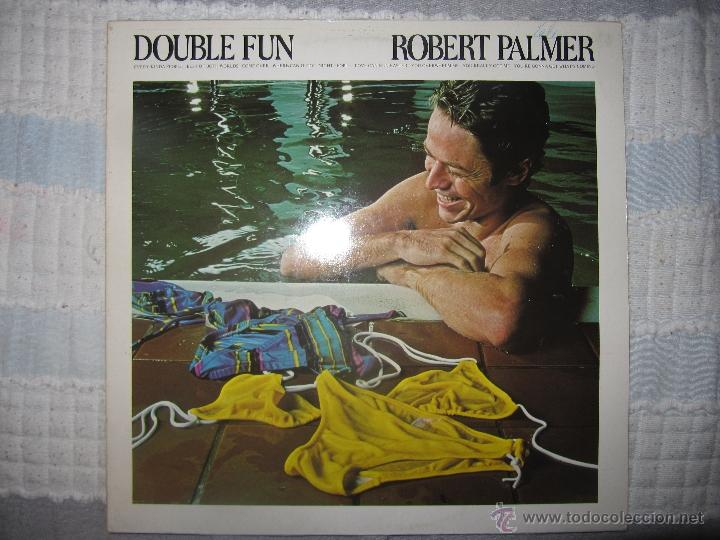 ROBERT PALMER -DOUBLE FUN -LP -VINILO (Música - Discos de Vinilo - EPs - Pop - Rock - New Wave Extranjero de los 80)