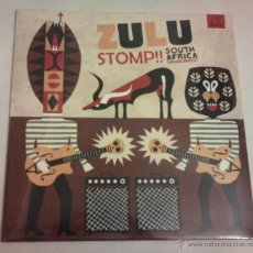 Discos de vinilo: ZULU STOMP!! - SOUTH AFRICA GARAGE BEATS!! ( LP REEDITION ) SOUTH AFRICA 60S GARAGE,. Lote 123520971