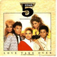 Discos de vinilo: 5 STAR LOVE TAKE OVER. Lote 40945183