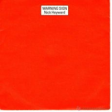Discos de vinilo: NICK HEYWARD ··· WARNING SIGN. Lote 40945241