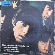 Discos de vinilo: THE ROLLING STONES - 19TH NERVOUS BREAKDOWN - EP 1966. Lote 43961391