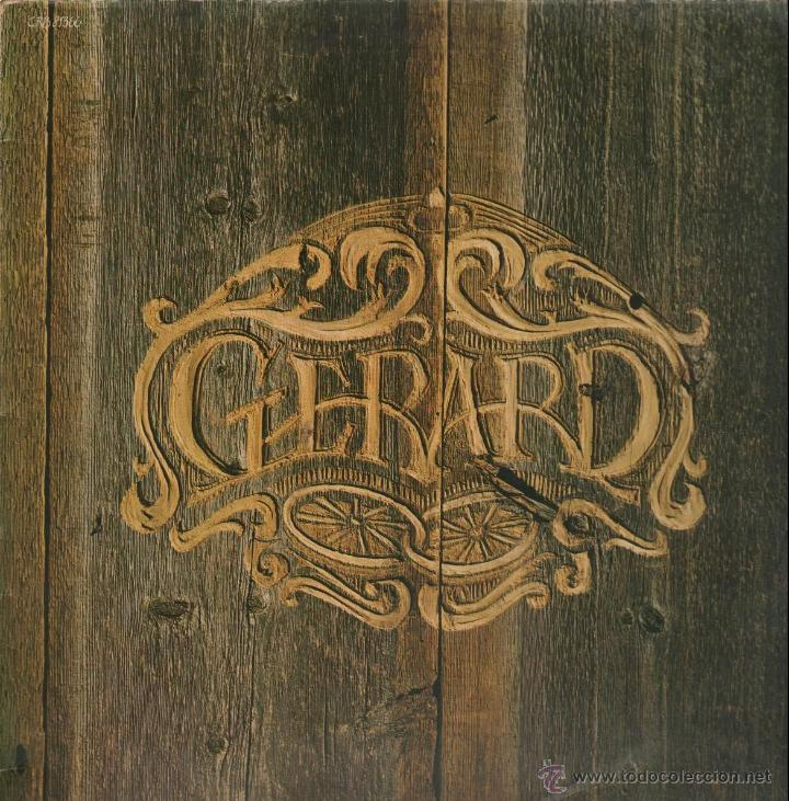GERARD / GERARD 1º LP 1976 !! CHICAGO, JAMES WILLIAM GUERCIO !! EXC (Música - Discos de Vinilo - EPs - Pop - Rock Extranjero de los 70	)