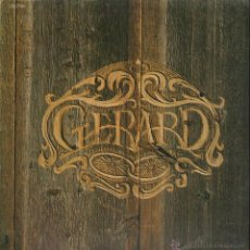 Discos de vinilo: GERARD / GERARD 1º LP 1976 !! CHICAGO, JAMES WILLIAM GUERCIO !! EXC. Lote 40950450