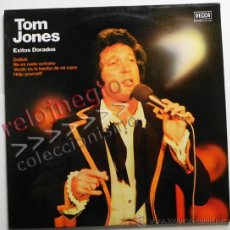 Discos de vinilo: TOM JONES - ÉXITOS DORADOS - DISCO DE VINILO LP - CANTANTE BRITÁNICO MÚSICA POP ROCK - AÑOS 70 80 90. Lote 40955402