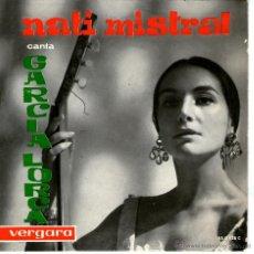 Discos de vinilo: NATI MISTRAL. Lote 40958682