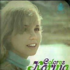 Discos de vinilo: KARINA LP SELLO HISPAVOX AÑO 1970 COLORES. Lote 40960355