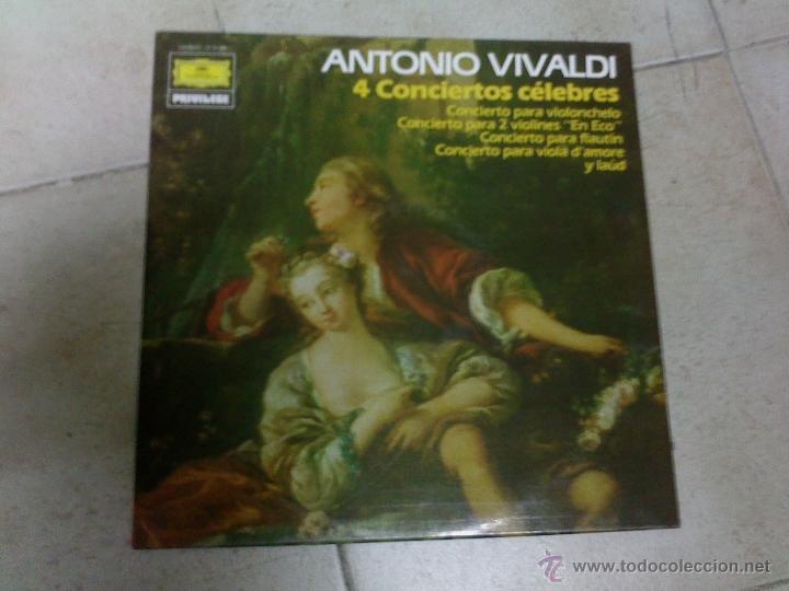 LP VIVALDI 4 CONCIERTOS (Música - Discos - LP Vinilo - Clásica, Ópera, Zarzuela y Marchas)