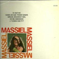 Discos de vinilo: MASSIEL LP SELLO CAUDAL AÑO 1977. Lote 40960797
