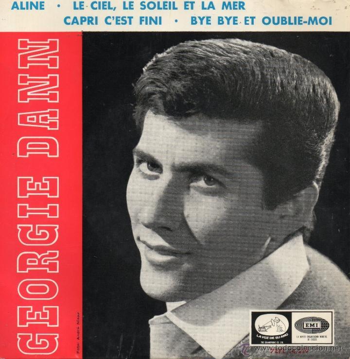 GEORGIE DANN, EP, ALINE + 3, AÑO 1965 (Música - Discos de Vinilo - EPs - Canción Francesa e Italiana)