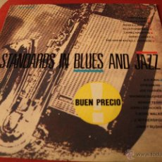 Discos de vinilo: STANDARDS IN BLUES AND JAZZ. Lote 40975479