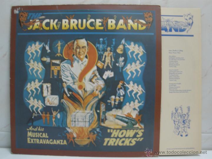 JACK BRUCE BAND - HOW´S TRICKS - MADE IN ENGLAND 1977 (Música - Discos - LP Vinilo - Heavy - Metal)