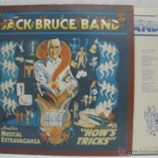 Discos de vinilo: JACK BRUCE BAND - HOW´S TRICKS - MADE IN ENGLAND 1977. Lote 40976741