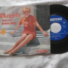 Discos de vinilo: ANGELA 7´SG QUISIERA REVIVIR / MANCHESTER Y LIVERPOOL (1967) NUEVO. Lote 40982651