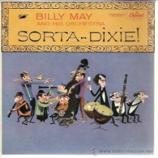 Discos de vinilo: BILLY MAY AND HS ORCHESTRA - SORTA-DIXIE! - EP CAPITOL UK 1955. Lote 40983152