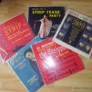 Discos de vinilo: RARO LOTE 5 DISCO LP ORIGINAL USA STRIPTEASE BURLESQUE PIN UP EXOTICA ROCKABILLY FETISH EROTICA SEXY. Lote 40985864